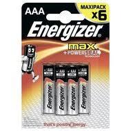 <b>Батарейка Energizer</b> MAX AAA <b>6шт</b>. (LR3) - купить батарейка ...