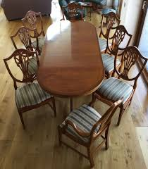Yew Dining Room Furniture Yew Dining Table Amp 8 Chairs In Forres Moray Gumtree