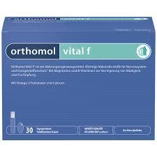 <b>Ортомол Витал Ф</b> набор бутылочка питьевая+капс.№30 <b>Ортомол</b> ...