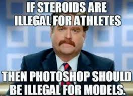 Funny Meme Picture #Athletes, #Steroids | Fat girl in a little bah ... via Relatably.com