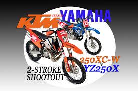 2-STROKE SHOOTOUT: <b>KTM 250XC</b>-<b>W</b> VS. YAMAHA YZ250X | <b>Dirt</b> ...