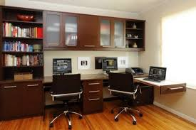 view in gallery by cherry wood home office