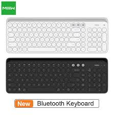<b>MIIIW</b> Bluetooth 4.0 Dual Mode Keyboard 104 Keys <b>MWBK01 2.4</b> ...