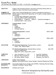 Aaaaeroincus Terrific Free Resume Template For Microsoft Word With