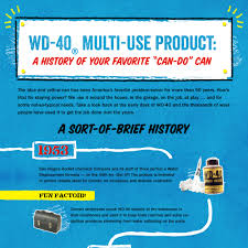 wd history infographic historical timeline of wd  <nobr>wd 40< nobr> getting the job done for