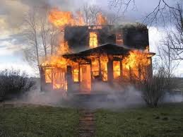 essay on house on fire