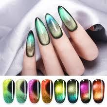 <b>LILYCUTE 5ml Auroras Luminous</b> Cat Eye Nail Gel Polish Glow in ...