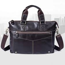 <b>DIDE 2019 Cowhide Briefcases</b> Genuine Leather Men's Business ...