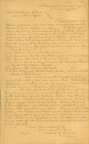 Cool Things   William Clark Papers   Kansapedia   Kansas     An example of a letter from the William Clark papers