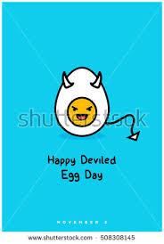 National Deviled Egg Day November 2 Stock Vector 508308145 ...