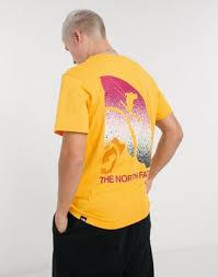 Желтая <b>футболка The North Face</b> Snow Maven | Gabinetecivil-al
