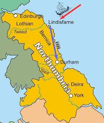 「793年 - ヴァイキングがリンディスファーン島の修道院を襲撃。」の画像検索結果