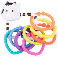 <b>Погремушка Happy Baby Moo</b>-<b>Ring</b> — купить по выгодной цене ...