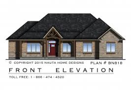 House Plans for Ontario and Canada by Nauta Home DesignsHouse Plan BN