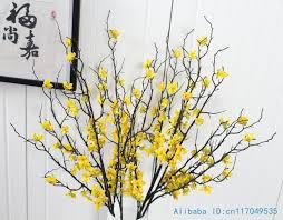<b>1 PCS</b> 90 cm <b>Beautiful Artificial</b> Winter Jasmine Plastic Branch with ...