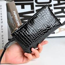 Women's Crocodile <b>PU Leather Wallet</b> | Charming Charlie