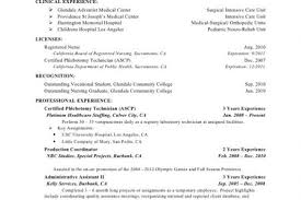 cd resumes phlebotomy resume no experience one page resume phlebotomy resume