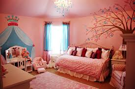 elegant dream bedroom design for teenage girl with dark brown awesome cream wooden study desk above cheerful home teen bedroom