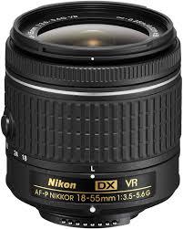 <b>Объектив Nikon AF-P DX</b> Nikkor 18-55mm f/3.5-5.6G VR, черный