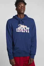 Купить <b>толстовку Element Tristar</b> Ft Hood Blue Depths (S1HOB7 ...