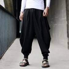 <b>Punk</b> Street Star Male <b>Cross Pants</b> Low Rise Lantern Pants Men ...