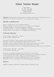 infant teacher cover letter sample resume builder infant teacher cover letter sample early childhood teacher cover letter career faqs sample preschool teacher resume