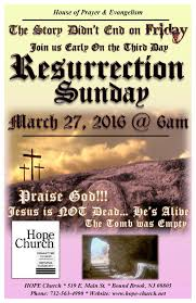 past event flyers resurrection service 2016 flyer final