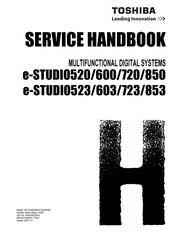 Toshiba e-STUDIO723 Manuals