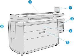 Принтер <b>HP</b> PageWide XL 4500 Руководство пользователя