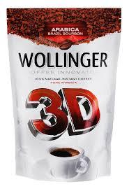 <b>Кофе Wollinger 3D растворимый</b>, 95гр - купите по низкой цене в ...
