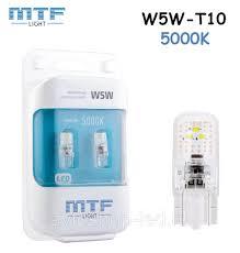 Светодиодные <b>лампы</b> W5W <b>MTF</b>-<b>Light VEGA</b> T10 5000K - 75Lm ...