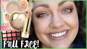 <b>Too Faced Peaches &</b> Cream Collection | FULL FACE First ...