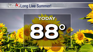 This week's cold front? A big bust. <b>Long live summer</b>!