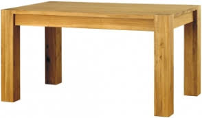 baumhaus aston oak dining table 6 seater baumhaus aston oak hidden
