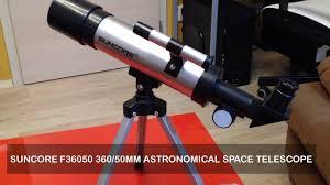 SUNCORE F36050 360/50mm Astronomical Space Telescope ...