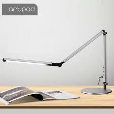 Energy Saving <b>Modern LED Desk Lamp</b> with Clamp Dimmer Swing ...