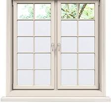 Privacy Window Film Static Cling Film Frosted Glass ... - Amazon.com