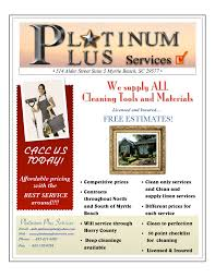 about us platinum plus services debi flyer v3