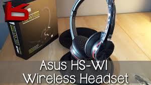 Unboxing: <b>Asus HS</b>-<b>W1</b> Wireless USB Headset - YouTube