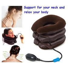 <b>Neck</b> Relax Pillow <b>Inflatable Air Cervical Neck</b> Massage Soft Device ...