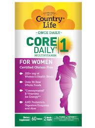 COUNTRY LIFE <b>CORE DAILY 1 MULTIVITAMIN</b> WOMEN 60 ...