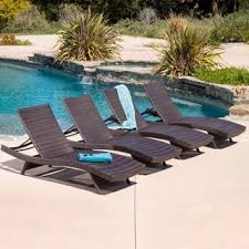 brown wicker outdoor furniture dresses: toscana outdoor brown wicker lounge set of  by christopher knight home