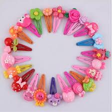 Korean Hairclips <b>Cute</b> Flower Hair Accessories <b>Resin Cartoon</b> Kids ...