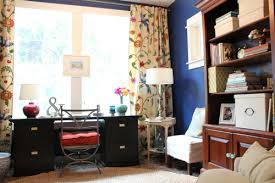 home office decorating makeover the reveal blue home office