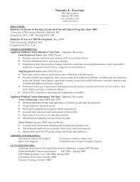 Free Rn Resume Template  new graduate nurse resume examples