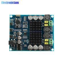 tpa3116 bluetooth 4 2 amplifier board call audio reception u disk tf card playback fm radio tone eq decoding