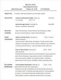 chronological resume template –    free samples  examples  format    sample chronological resume template