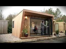 garden offices garden rooms and garden studios by green retreats youtube build garden office kit