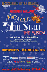 miracle on 34th street the musical springfield little theatre