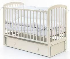 Детская <b>кроватка Fiorellino Tina</b> продольный маятник 120х60 см ...